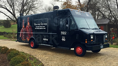 Maker's Mark Holiday Truck Tour